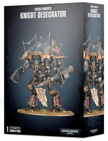 Chaos Knights Knight Desecrator / Knight Rampager