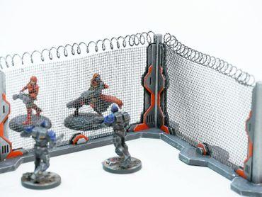Ziterdes Schutzzaun SciFi (4) 28mm