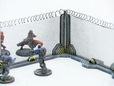 Ziterdes Schutzzaun Stahl (4) 28mm