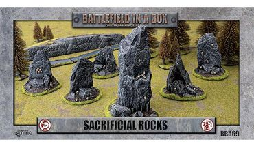 Battlefield in a Box Sacrificial Rocks
