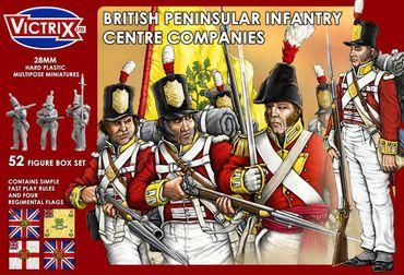 British Peninsular Infantry Centre Companies 28mm