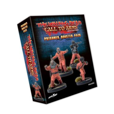 The Walking Dead Call to Arms Prisoner Booster (Englisch)