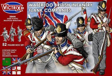 Waterloo British Infantry Flank Companies 28mm