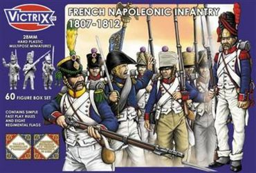 French Napoleonic Infantry (1807 - 1812) 28mm