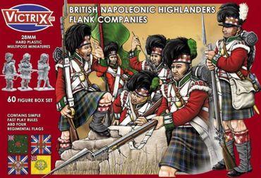 British Napoleonic Highlander Flank Companies 28mm