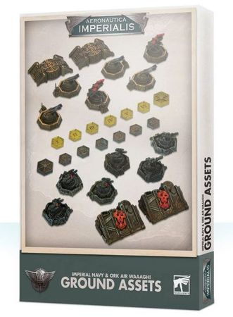 Aeronautica Imperialis Imperial Navy & Ork Air Waaagh! Ground Assets