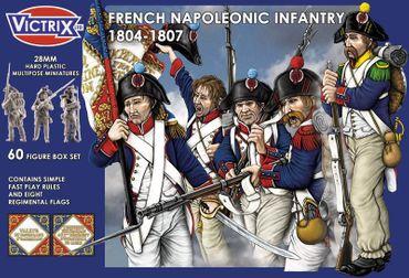 French Napoleonic Infantry (1804 - 1807) 28mm