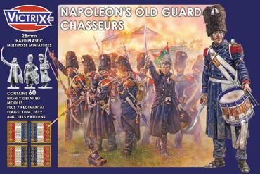 Napoleon's French Old Guard Chasseurs 28mm
