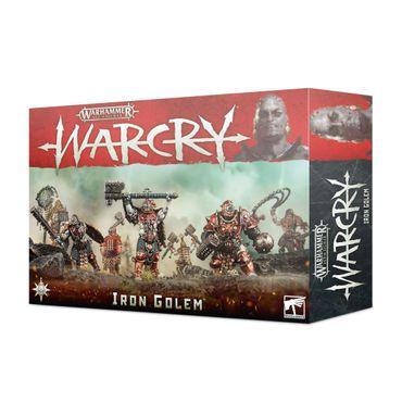 Warhammer Age of Sigmar Warcry Iron Golem Warband