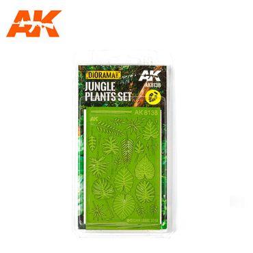 AK Interactive Jungle Plants