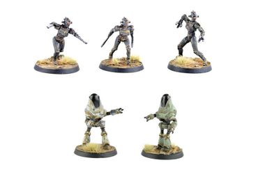 Fallout Wasteland Warfare Robots Assaultrons & Protectrons (Englisch)
