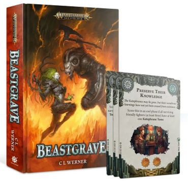 Beastgrave (Englisch) + 3 Objective Cards