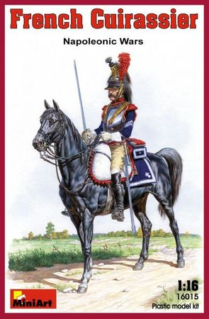 French Cuirassier Napoleonic Wars 1:16