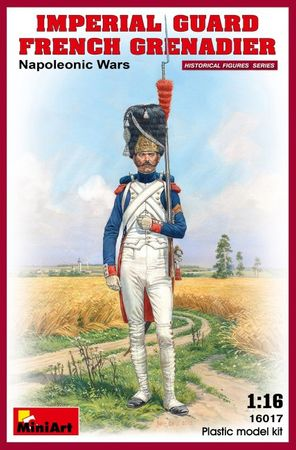 Imperial Guard French Grenadier Napoleonic Wars 1:16