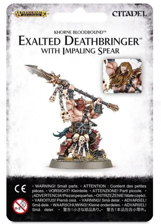 Khorne Bloodbound Exalted Deathbringer with Impaling Spear [GW WEB EXKLUSIV]
