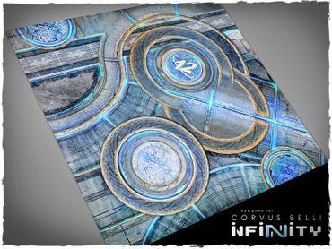 Deep Cut Studio Wargames Terrain Mat O12 4x4 Infinity