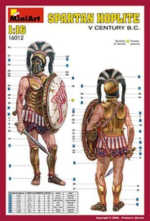 Spartan Hoplite V Century B.C. 1:16 – Bild 2