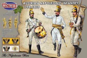 Austrian Napoleonic Infantry 1798 - 1809 28mm