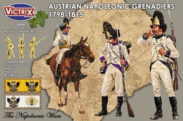 Austrian Napoleonic Grenadiers 1798 - 1815 28mm