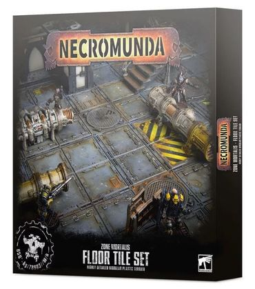 Necromunda Zone Mortalis Floor Tile Set