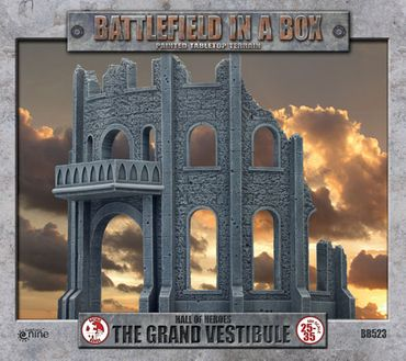 Battlefield in a Box Hall Of Heroes The Great Vestibule