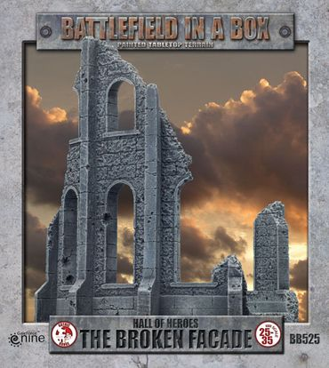 Battlefield in a Box Hall Of Heroes The Broken Facade