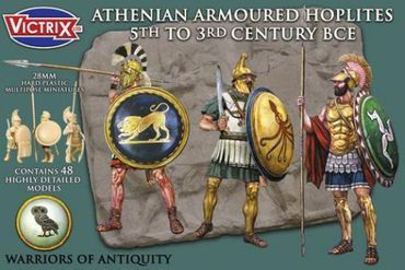 Athenian Armoured Hoplites 5th to 3rd Century BCE 28mm