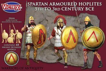 Spartan Armoured Hoplites 5th to 3rd Century BCE 28mm