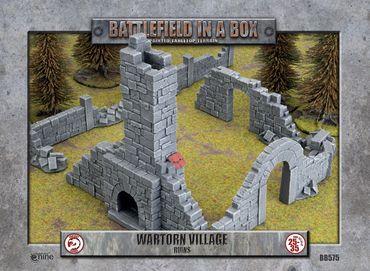 Battlefield in a Box The Wartorn Village Ruins