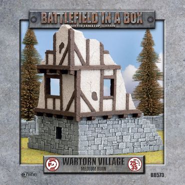 Battlefield in a Box The Wartorn Village Medium Ruin