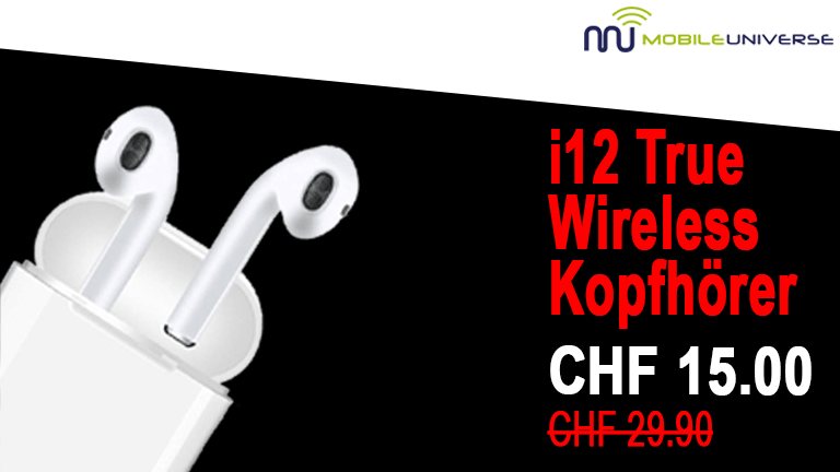 i12 True Wireless Kopfhörer