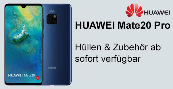 Huawei Mate 20 Pro Hüllen und Zubehör günstig bestellen