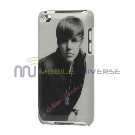 iPod Touch 4 Cooler Justin Bieber Hart Plastik Case