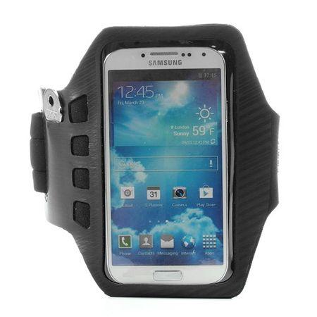Sport Armband Case fürs Samsung Galaxy S4 - schwarz