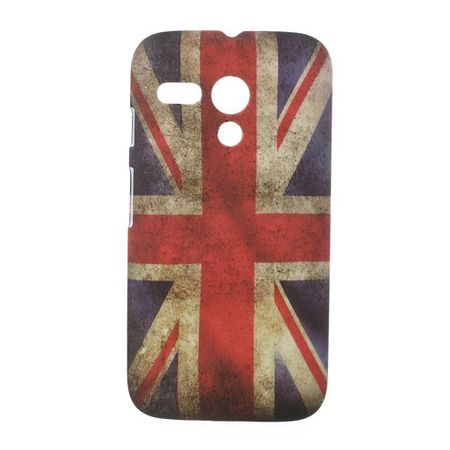 Motorola Moto G Hart Plastik Case UK Grossbritannien Flagge