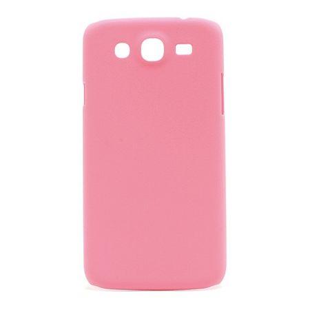 Samsung Galaxy Mega 5.8 Gummiertes Hart Plastik Case - pink