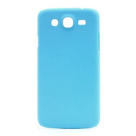 Samsung Galaxy Mega 5.8 Gummiertes Hart Plastik Case - hellblau