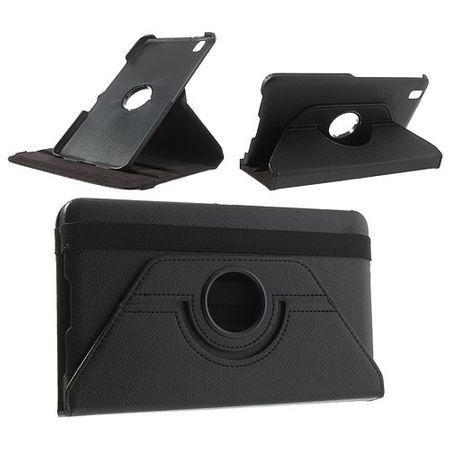 Samsung Galaxy Tab Pro 8.4 (T320/T321/T325) Leder Case mit Litchimuster - schwarz
