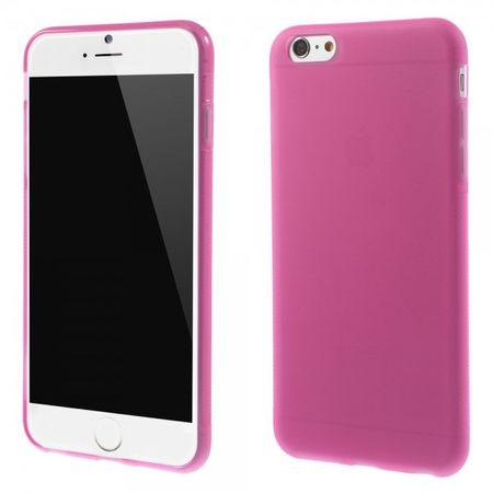 iPhone 6 Plus/6S Plus Elastisches Anti-Rutsch Plastik Case - rosa