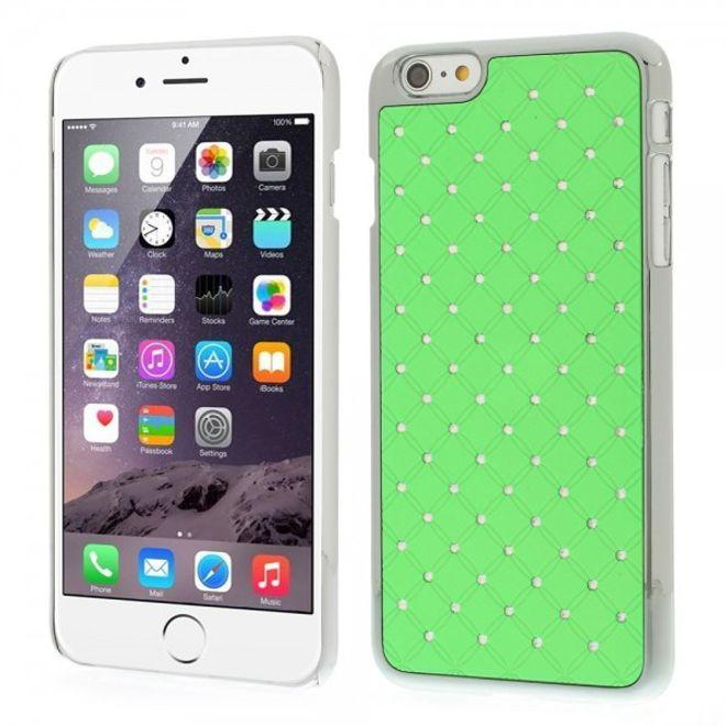 iPhone 6 Plus/6S Plus Hart Plastik Case mit Sternenhimmel - grün