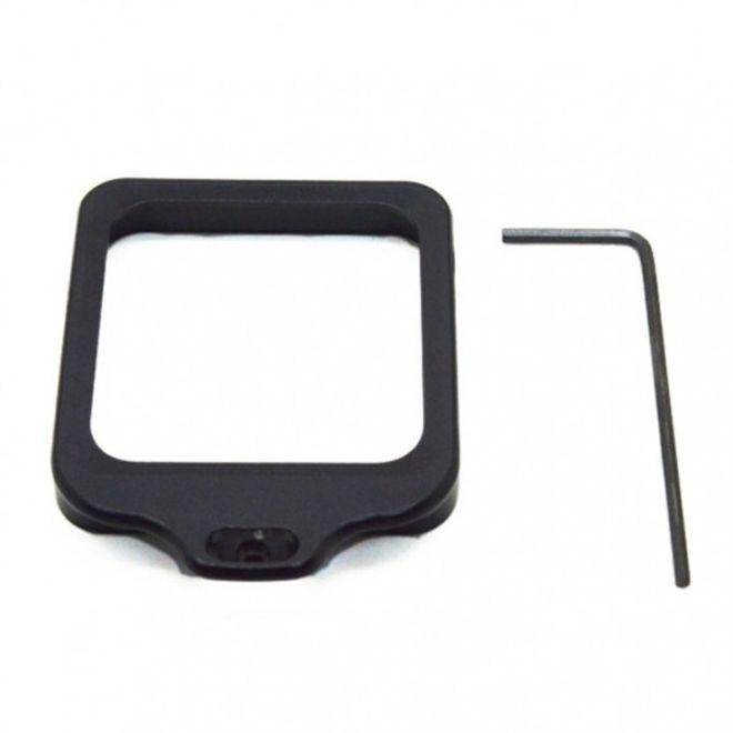 GoPro Hero 3+ Aluminiumlegierter Objektiv Riemenring mit Werkzeug - schwarz