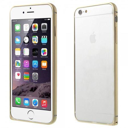 iPhone 6 Plus/6S Plus LOVE MEI Metall Bumper Curved - champagnerfarben