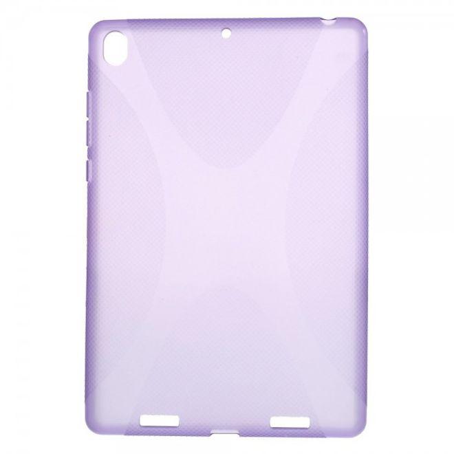 Xiaomi MiPad Rutschfestes, elastisches Plastik Case X-Shape - purpur