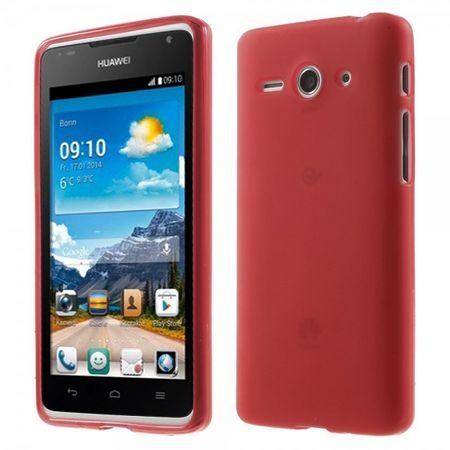Huawei Ascend Y530 Elastisches, mattes Plastik Case - rot