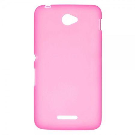 Sony Xperia E4/E4 Dual Elastisches, mattes Plastik Case - rosa