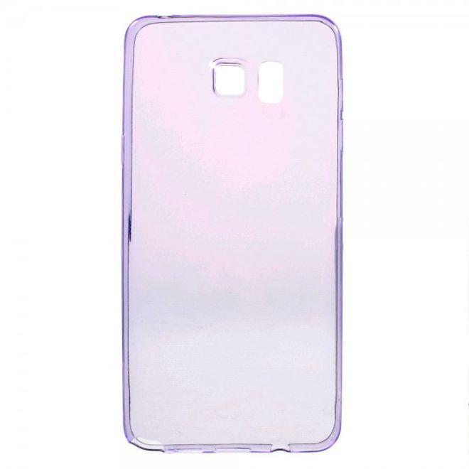 Samsung Galaxy Note 5 Ultradünnes, elastisches Plastik Case - purpur