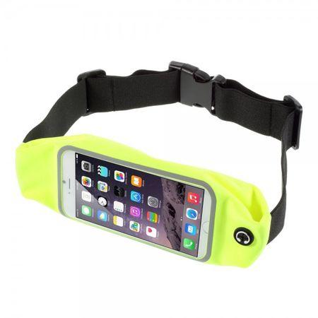 iPhone 6 Plus Jogging Gurthalterung touchscreenfähig - grün