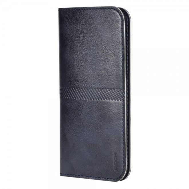 Rock iPhone 6 Plus/6S Plus Schlanker, modischer Leder Beutel von Rock - dunkelblau