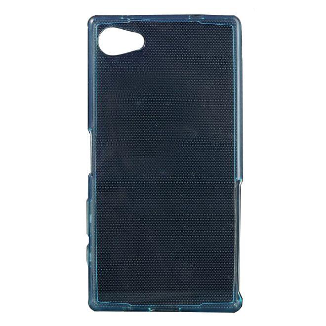 Sony Xperia Z5 Compact Dünnes, elastisches Plastik Case - hellblau