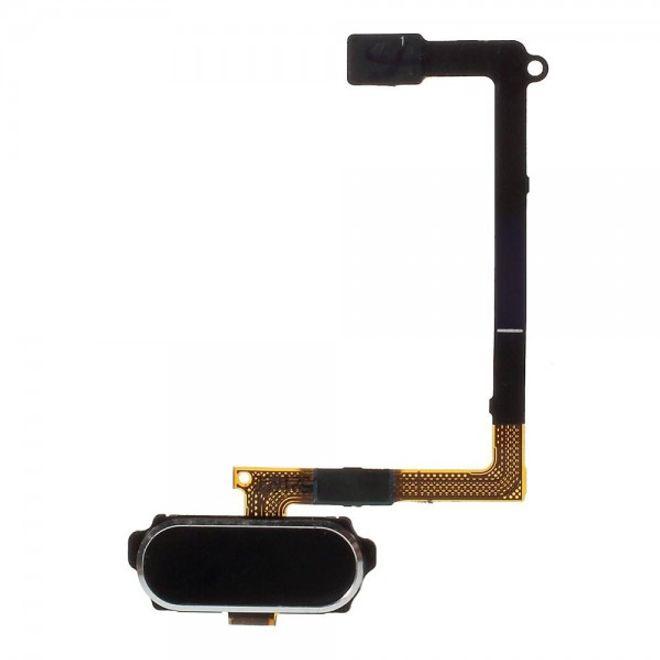 Samsung Galaxy S6 OEM Home Button mit Flex Kabel Ersatzteil - schwarz